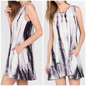 🌞SUMMER SALE🌞 Soft knit tie dye pocket dress